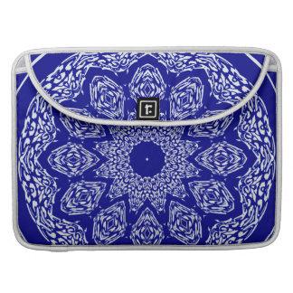 Boho Bazaar Mosaic Cobalt Pattern MacBook Pro Sleeves