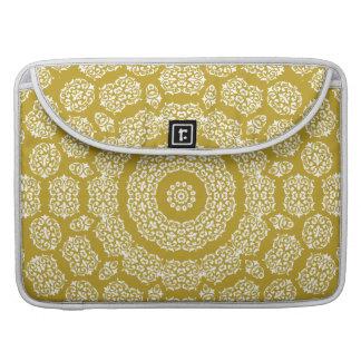 Boho Bazaar Mosaic Gold Pattern Sleeve For MacBooks