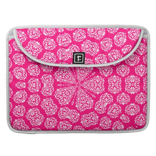 Boho Bazaar Mosaic Rose Pattern MacBook Pro Sleeve