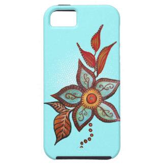 Boho Blue iPhone 5 Case