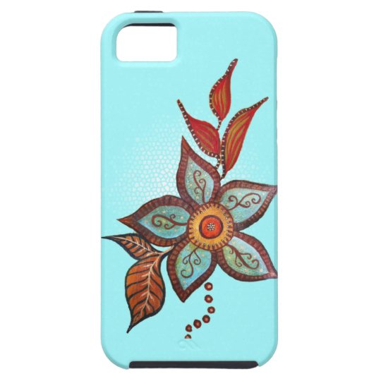 Boho Blue iPhone SE/5/5s Case