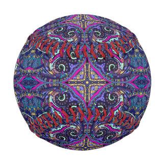 Boho blue kaleidoscope native american trend baseball
