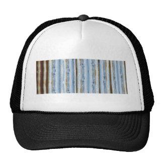 Boho Brown and Blue Design Trucker Hat