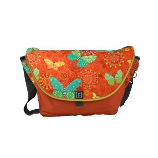 Boho Butterflies Messenger Bag
