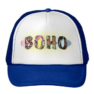 Boho Caps in Colors Trucker Hat