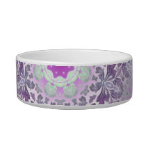 Boho chic Bohemian lilac purple mandala Bowl