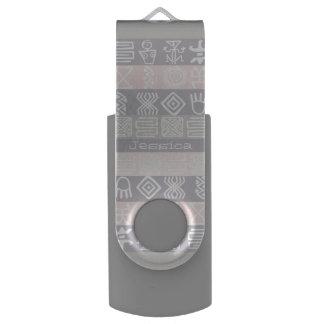 Boho-chic Design Personalizable USB Flash drive