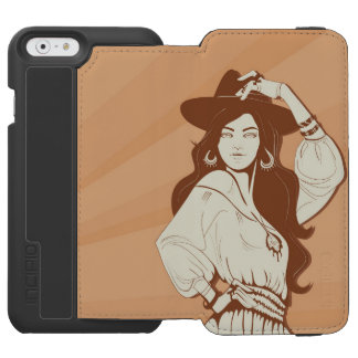 Boho Chic fashionista iPhone 6/6s Wallet Case