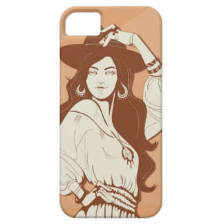 Boho Chic fashionista iPhone SE/5/5s Case