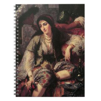Boho Chic Hookah Gypsy Notebook