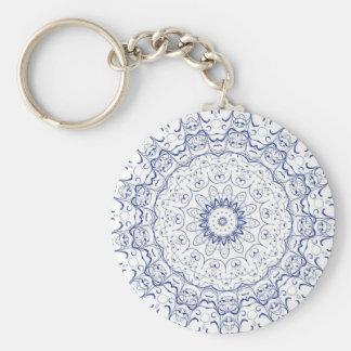 Boho Chic Lace Look Keychain
