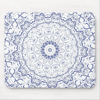 Boho Chic Lace Look Mouse Pads