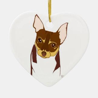 Boho Chihuahua ♡ ornaments