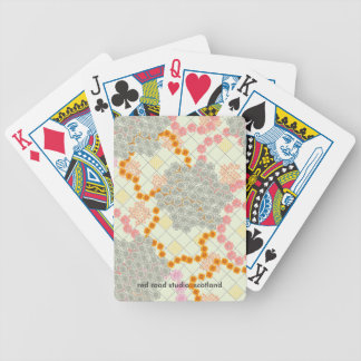 Boho Daisy Chain Bicycle Playing Cards