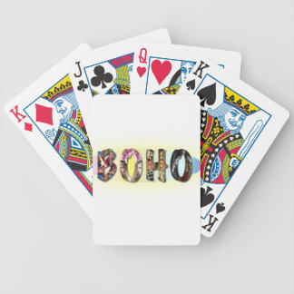 Boho Decks of Cards Bicycle Playing Cards