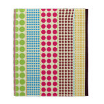 Boho Dots iPad Folio iPad Cases