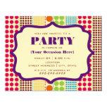 Boho Dots Party Invitation