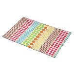 Boho Dots Place mat Cloth Place Mat