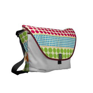 Boho Dots Rickshaw Messenger Bag