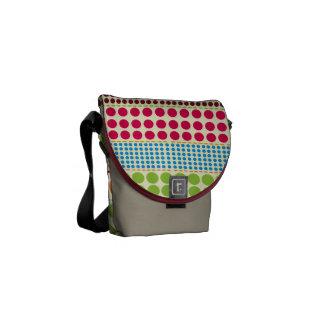 Boho Dots Rickshaw Mini Messenger Bag