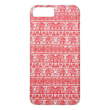 Boho ethnic elephant pattern iPhone 8 plus/7 plus case