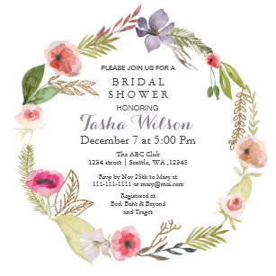 60 off garden bridal shower invitations shop now to save zazzle boho floral garden bridal shower invitations filmwisefo