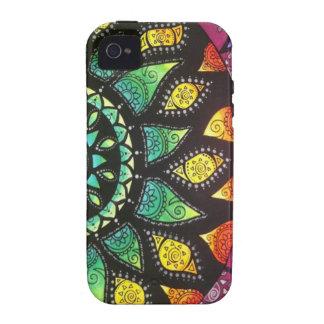 Boho floral Iphone 4 iPhone 4 Carcasa