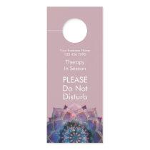 Boho Floral Mandala Chic, Trendy & Modern Door Hanger