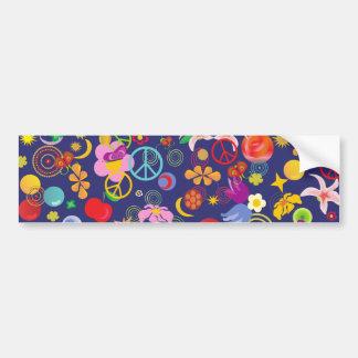 Boho floral pegatina para auto