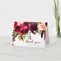 Boho Floral | Thank You