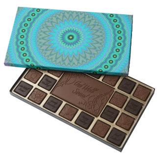 Boho flower 45 piece box of chocolates