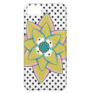 Boho Flower Iphone 5 Case