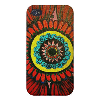 Boho Flower iPhone case iPhone 4 Cover
