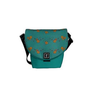 Boho Flowering Vine Messenger Bag