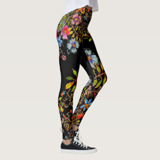 Boho Garden Leggings