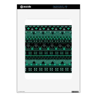 Boho Geometric Pattern Decals For iPad