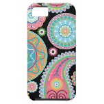 Boho Girl Paisley Multicolor Phone Case iPhone 5 Covers