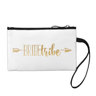 Boho Gold Arrow Bride Tribe Bag