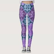 Boho Hippie Quilt Leggings