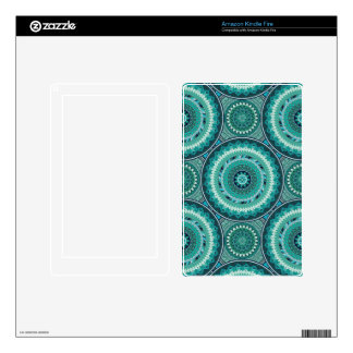 Boho mandala abstract pattern design decal for kindle fire
