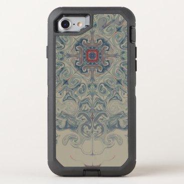 Boho, Mandala OtterBox Defender iPhone 8/7 Case