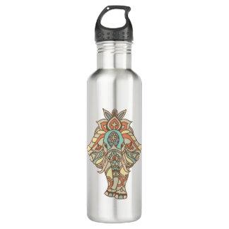 Boho Mandela Elephant Water Bottle