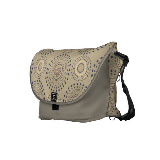 Boho Medallian Messenger Bag