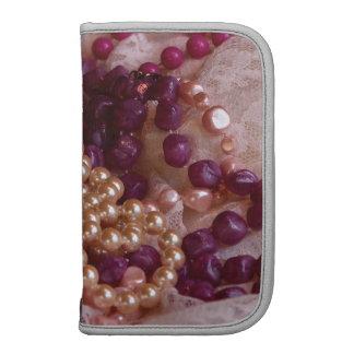 Boho Mod: Pearls, Beads, Lace Folio Planners