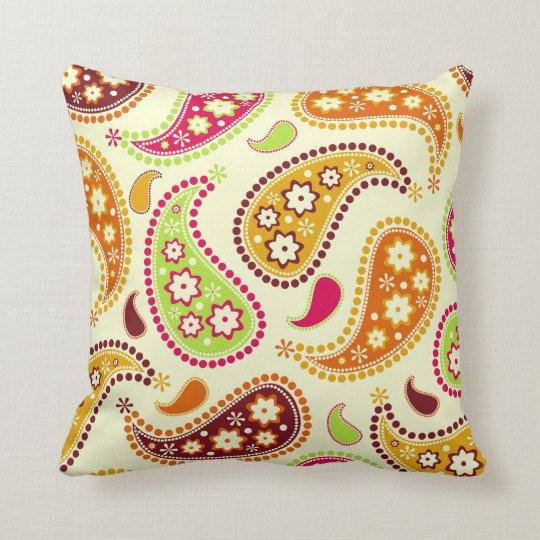 Boho Paisley Pillow