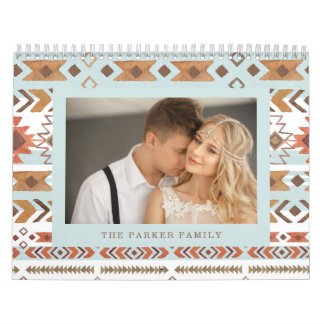 Boho Pattern | Family Photo Calendar