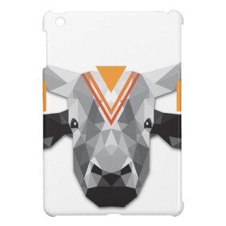 Boho poly cow iPad mini cases