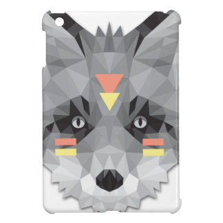 Boho poly Fox iPad Mini Covers