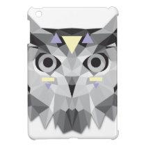 Boho poly owl cover for the iPad mini