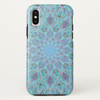 Boho-romantic colored mandala ornament arabesque iPhone x case